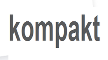 Schriftzug kompakt