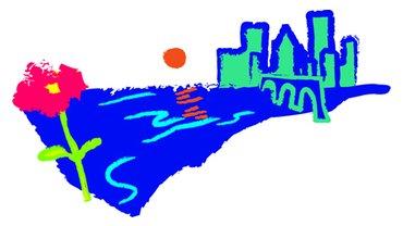 Logo KommunalfinanzenStadt_Land_Fluss in Hessen