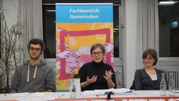 Podium Dr. Stefan Kerber-Clasen, Franziska Meyer,Lantzberg, Kristin Ideler